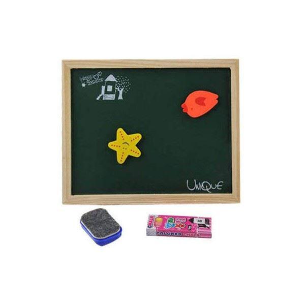 tableau noir en bois achat vente ardoise enfant magique tableau noir en bois cdiscount. Black Bedroom Furniture Sets. Home Design Ideas