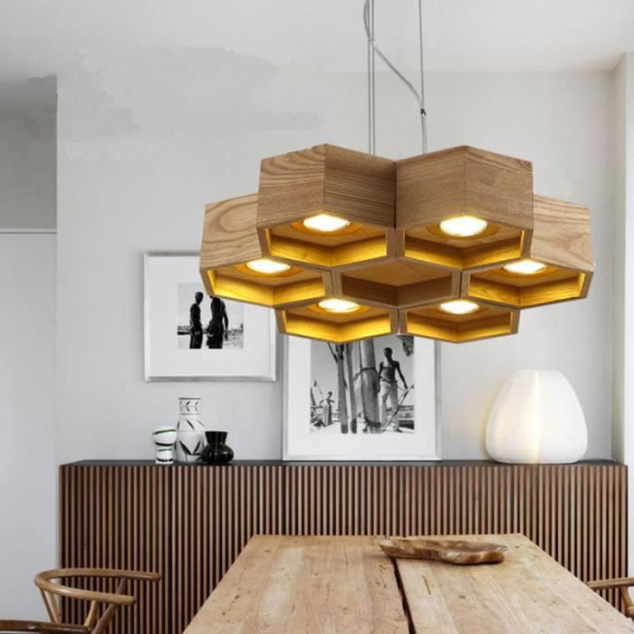 lustre en bois achat vente lustre en bois pas cher les soldes sur cdiscount cdiscount. Black Bedroom Furniture Sets. Home Design Ideas