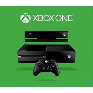 CONSOLE XBOX ONE NOUV. Xbox One 500 Go Noire + Capteur Kinect