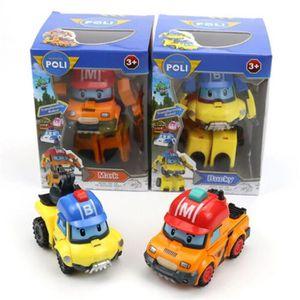POUPÉE Robocar Poli - Robot Voiture jouet corée poli robo