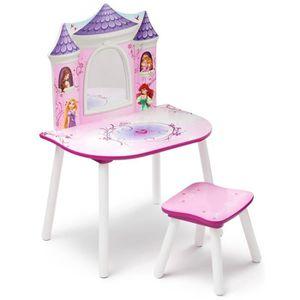 coiffeuse disney princesses achat vente jeux et jouets pas chers. Black Bedroom Furniture Sets. Home Design Ideas