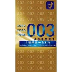 PRÉSERVATIF Okamoto japonais Ultra Thin Condom 0.03mm 5 Assort