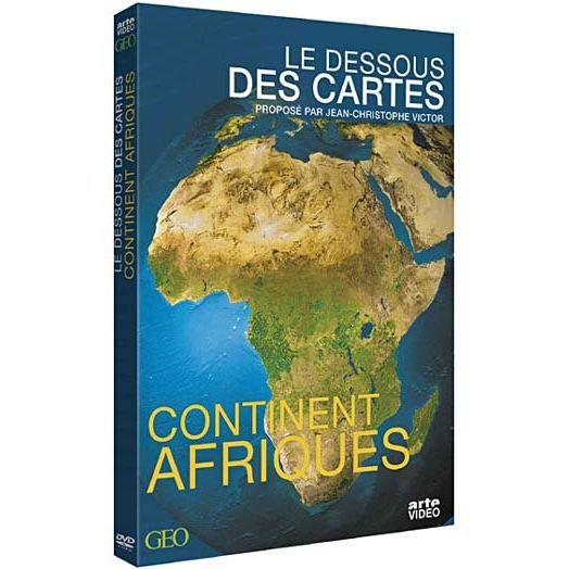 dvd le dessous des cartes continent afrique en dvd documentaire pas cher cdiscount. Black Bedroom Furniture Sets. Home Design Ideas