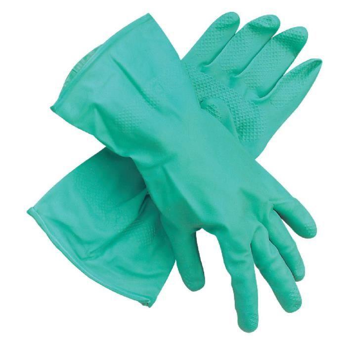 gants nitrile achat vente gant de chantier cdiscount. Black Bedroom Furniture Sets. Home Design Ideas