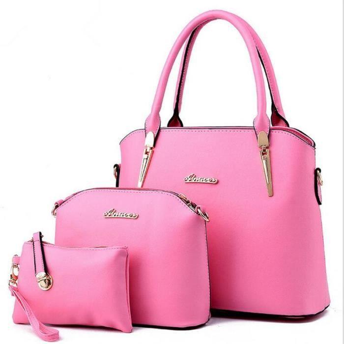 sac a main femme rose