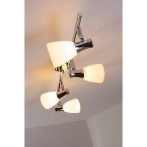 luminaire lustre lampe 4 spots sur rail lampe su achat vente luminaire lustre lampe 4 sp. Black Bedroom Furniture Sets. Home Design Ideas