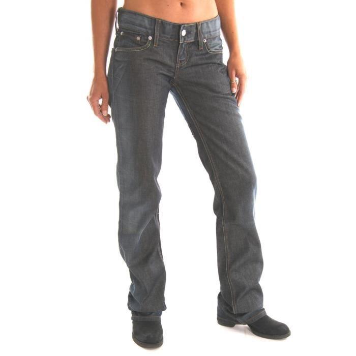 jeans femme levis 557 coupe droi bleu achat vente. Black Bedroom Furniture Sets. Home Design Ideas