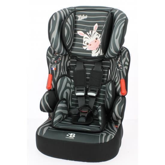 siege auto rehausseur beline luxe zebre gr 1 2 3 e achat. Black Bedroom Furniture Sets. Home Design Ideas