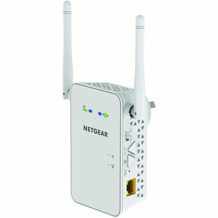Repeteur Wifi Exterieur Netgear Of Netgear R P Teur Wi Fi Ex6100 100pes Prix Pas Cher