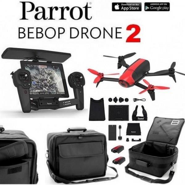 pack drone parrot bebop 2 cam ra 14mp skycontroller. Black Bedroom Furniture Sets. Home Design Ideas