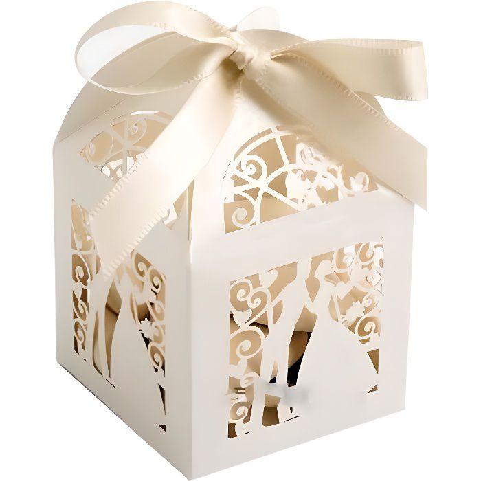 bonbonniere mariage achat vente bonbonniere mariage pas cher cdiscount. Black Bedroom Furniture Sets. Home Design Ideas