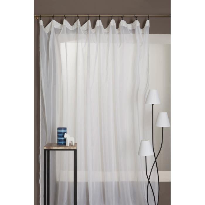 rideau voilage antifeu m1 galon fronceur grande hauteur. Black Bedroom Furniture Sets. Home Design Ideas