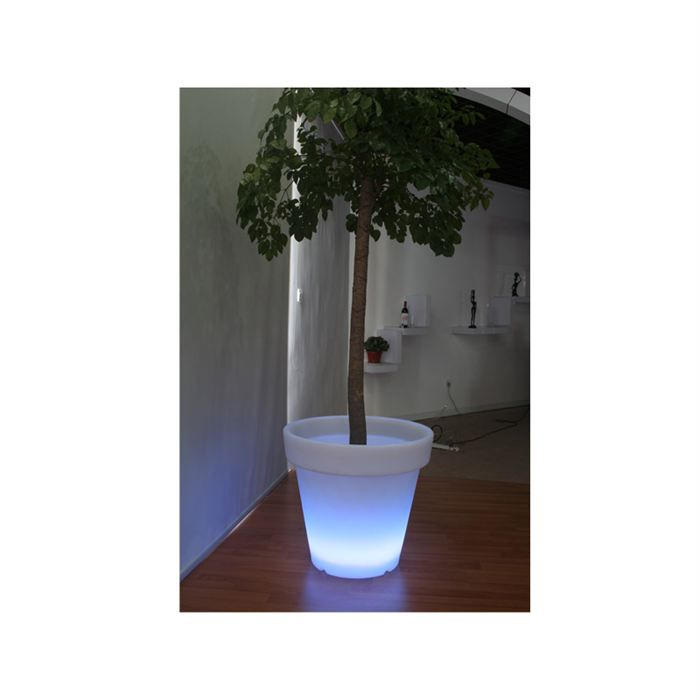 cache pot lumineux leds 50 cm achat vente cache pot. Black Bedroom Furniture Sets. Home Design Ideas