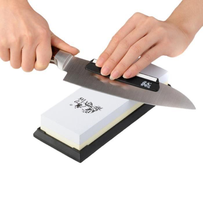 Taidea aiguiseur pierre aiguiser 1000 3000 pour couteaux for Aiguiser couteau cuisine