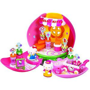 Maison hello kitty achat vente jeux et jouets pas chers - Maison de poupee hello kitty ...