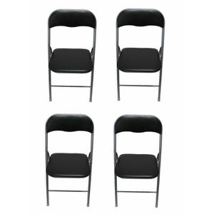 Lot de 4 chaises pliantes achat vente lot de 4 chaises - Lot de chaise pas cher ...