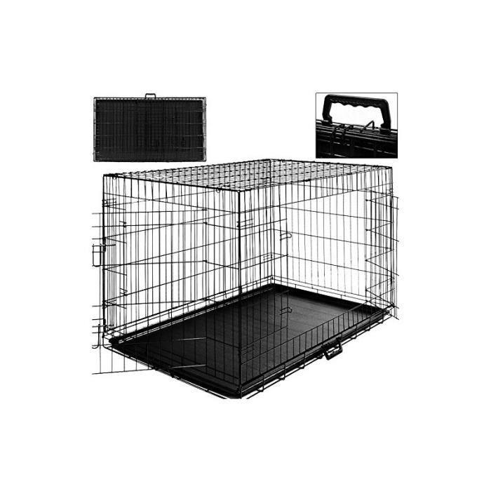 cage boite transport pour chien et animauxt pliable. Black Bedroom Furniture Sets. Home Design Ideas
