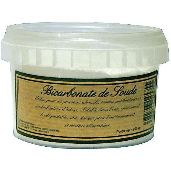 bicarbonate de sodium boite 250g achat vente bicarbonate de soude bicarbonate de sodium. Black Bedroom Furniture Sets. Home Design Ideas
