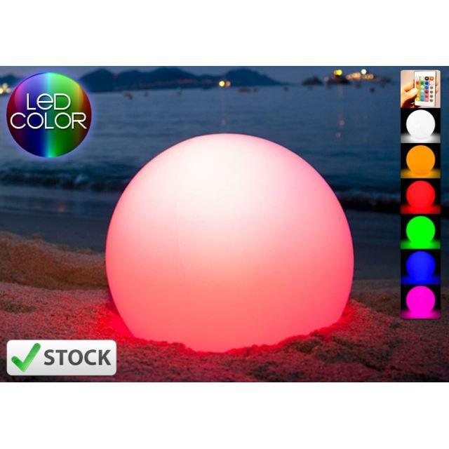 boule lumineuse led 40 cm achat vente boule lumineuse led 40 plastique soldes d. Black Bedroom Furniture Sets. Home Design Ideas