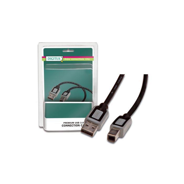 cable imprimante usb 3 0 achat vente c ble connectique cable imprimante usb 3 0 1. Black Bedroom Furniture Sets. Home Design Ideas