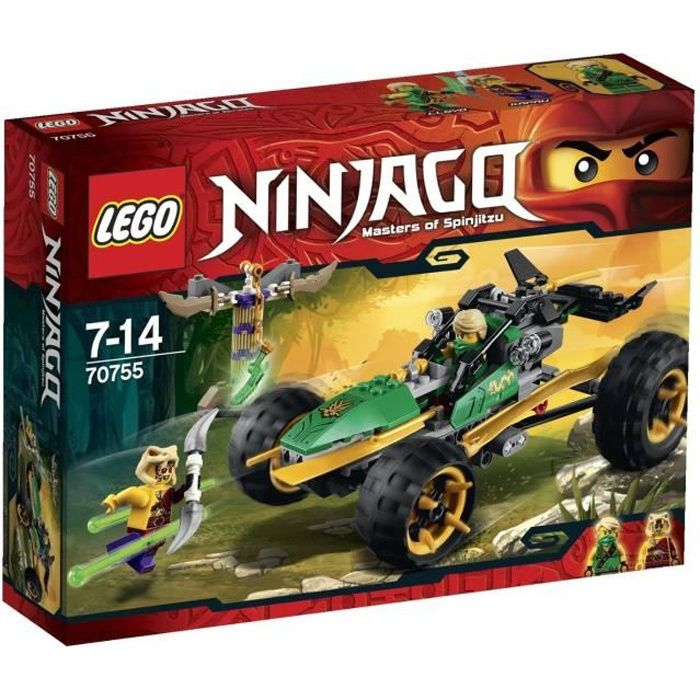 70755-Le buggy de la jungle de LEGO