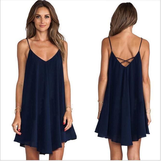 2016 femmes d 39 t robe de plage mode casual en a achat vente robe de plage cdiscount. Black Bedroom Furniture Sets. Home Design Ideas