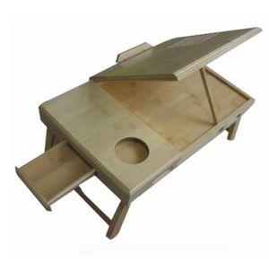 Table d 39 appoint pliante tablette de lit en bois achat for Table d appoint pour lit