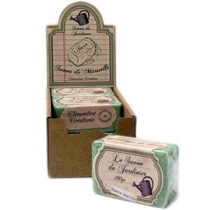 Savon de marseille le savon du jardinier 100g parfum - Cadeau pour jardinier ...
