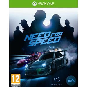 JEUX XBOX ONE Need For Speed Jeu Xbox One