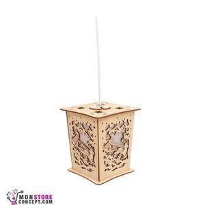 COFFRET DE DÉCORATION Lampe «Père Noël»