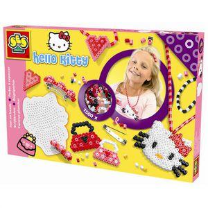 JEU DE PERLE Á REPASSER Perles Bijoux Hello Kitty