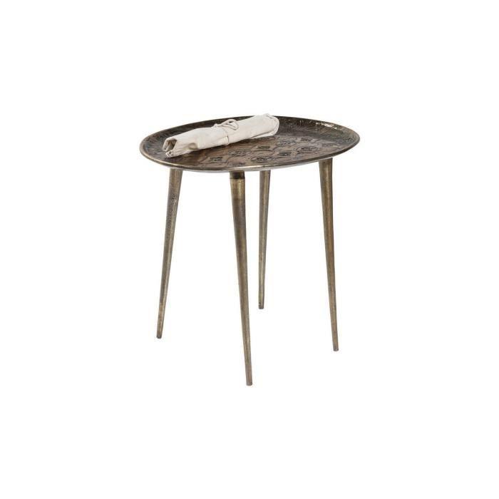 Table d appoint troja 53 cm kare design achat vente for Table d appoint ordinateur