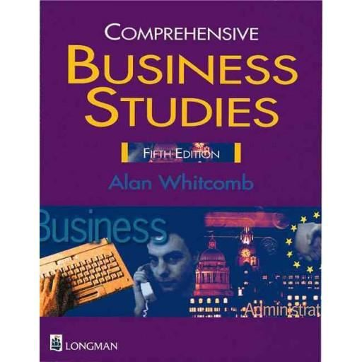 Studies Paper - Alan Whitcomb - Comprehensive Business Studies Paper ...