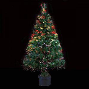 arbre de noel en fibre optique achat vente arbre de noel en fibre optique pas cher cdiscount. Black Bedroom Furniture Sets. Home Design Ideas