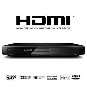 LECTEUR HD DVD PHILIPS DVP2880/12 Lecteur DVD DivX HDMI