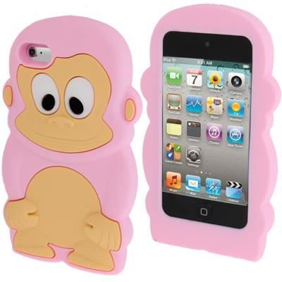 Ipod touch 4 coque housse de protection silicone singe for Housse ipod nano 7