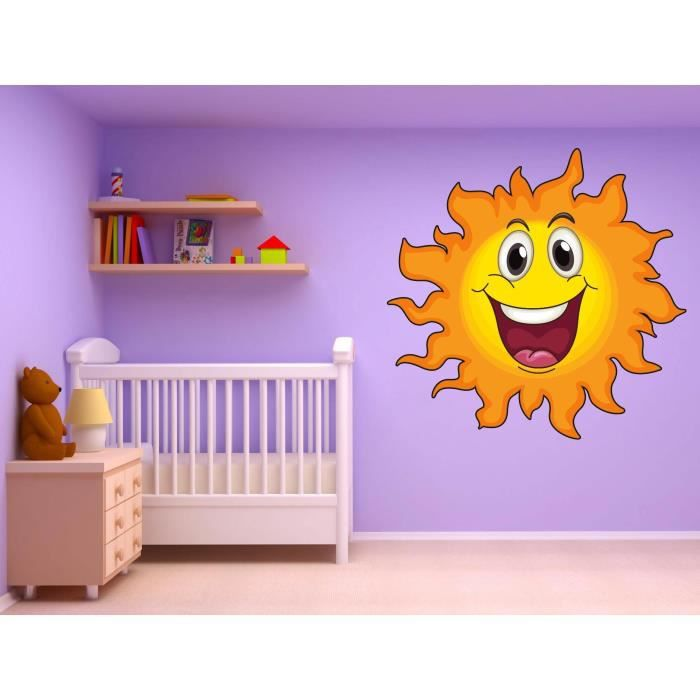 Stickers muraux enfant soleil achat vente stickers - Ou trouver stickers muraux ...