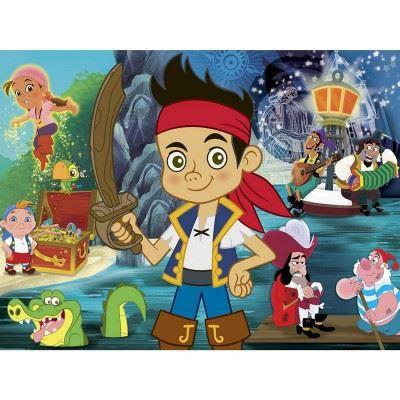 Puzzle 60 pi ces jake et les pirates du pays achat - Jake et les pirates ...