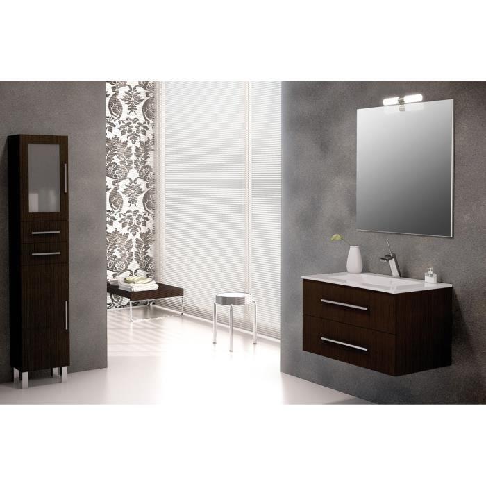 Ensemble de salle de bain madrid meuble suspendu weng 60 for Ensemble meuble de salle de bain solde