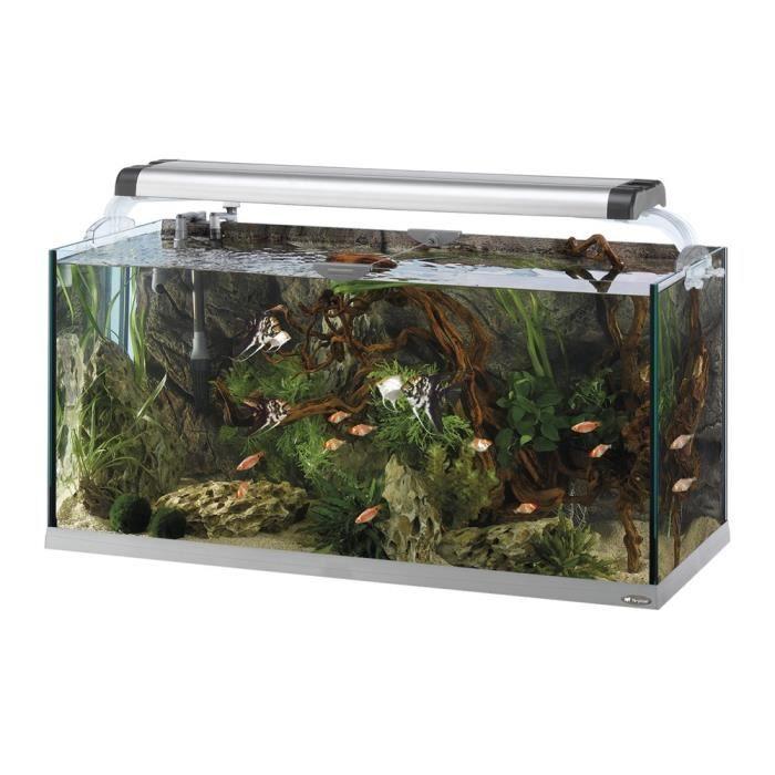 Cayman 110 open aquarium en verre 110x45x64 cm achat for Vendeur aquarium