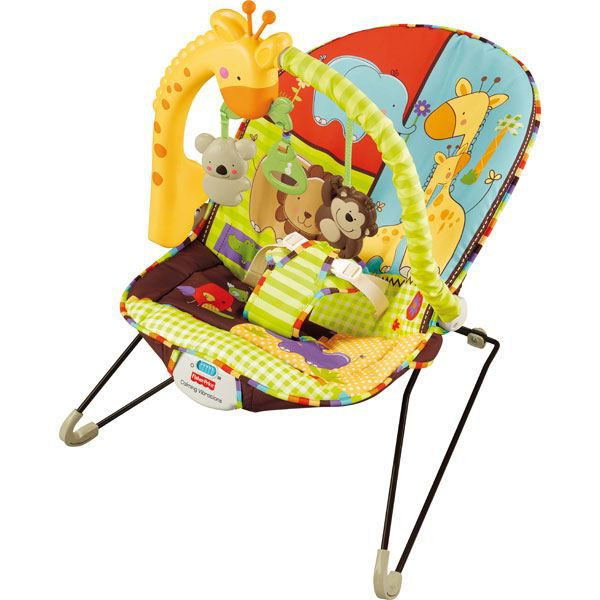 Transat musical fisher price zoo achat vente transat balancelle transat musical fisher - Chaise fisher price musical ...