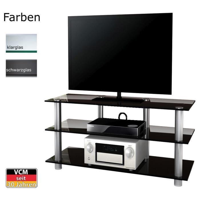 Lotasa 140 big meuble tv hifi video commode rangement for Meuble tv large