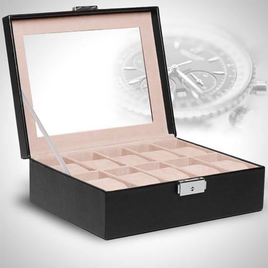 coffret pour montres urks01 urks01 achat vente etui. Black Bedroom Furniture Sets. Home Design Ideas