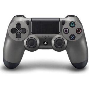 MANETTE CONSOLE Manette de Jeu DualShock 4 Steel Black PS4