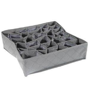 boite de rangement cravate achat vente boite de rangement cravate pas cher soldes cdiscount. Black Bedroom Furniture Sets. Home Design Ideas