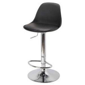 Chaise de bar egg noire achat vente chaise acier chrom cdiscount - Cdiscount chaise de bar ...