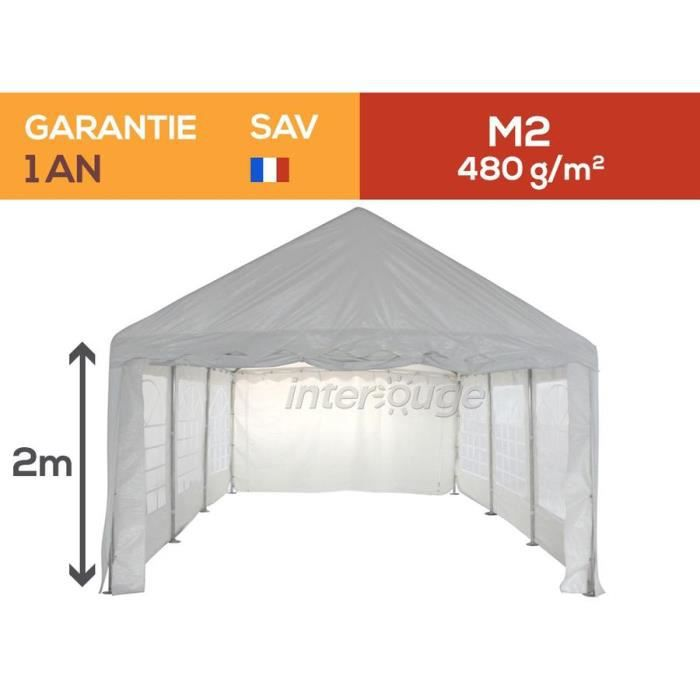 tente de reception chapiteau barnum 5x6m tanche achat vente tonnelle barnum tente de. Black Bedroom Furniture Sets. Home Design Ideas