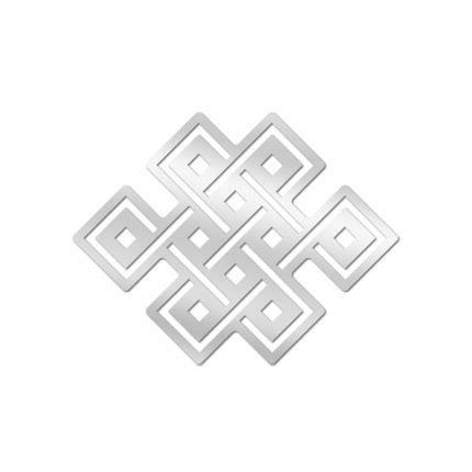 Miroir bouddhisme noeud ternel achat vente miroir for Miroir sans fin