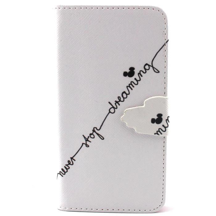 téléphone Protection Housse en Cuir Étui Flip Cover. Pour Samsung