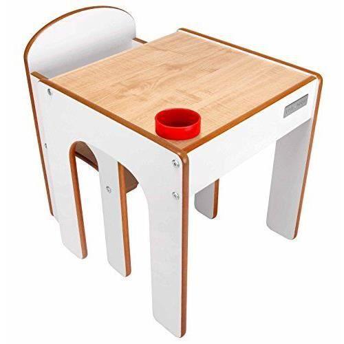 little helper en semble bureau et chaise en bois pour. Black Bedroom Furniture Sets. Home Design Ideas